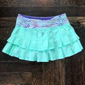 Ivivva/Lululemon girls Set the Pace Skirt